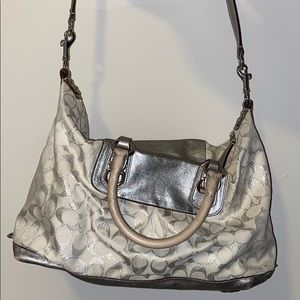Coach Hand Bag with over the shoulder strap